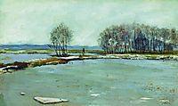 Early spring, 1899, levitan