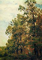 Edge of forest, c.1882, levitan