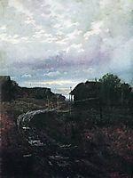 Evening, 1877, levitan
