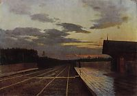 The evening after the rain, 1879, levitan