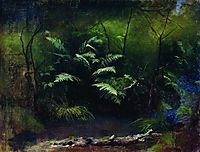 Ferns by the water, 1895, levitan