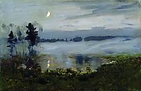 Fog over water, c.1895, levitan