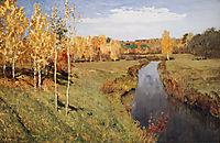 Golden Autumn, 1895, levitan