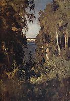 The Gully, 1898, levitan