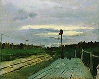 The halt, c.1885, levitan