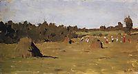 Haymaking, 1899, levitan