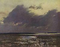 High waters, 1895, levitan
