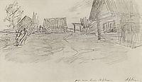 Huts, 1899, levitan
