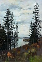 In the North, 1896, levitan