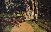 In the park, 1895, levitan