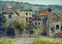 In the Vicinity of Bordiguera, in the North of Italy, 1890, levitan