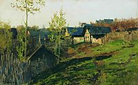 Isbas lighted by sun, 1889, levitan