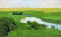 The Istra River, 1886, levitan