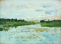 Lake, 1895, levitan