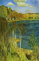 The Lake, 1898, levitan