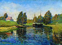 Lake. Autumn., c.1898, levitan