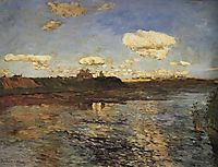 The Lake, c.1899, levitan