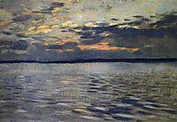 The Lake. Eventide., c.1895, levitan