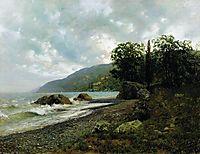 Landscape in Crimea, 1887, levitan