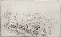 Landscape at Volga, 1890, levitan