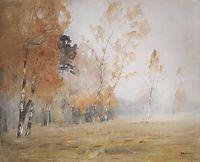Mist. Autumn., 1899, levitan