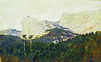 Mountains. Crimea., 1886, levitan