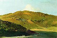 On peaks of Yaila, 1886, levitan