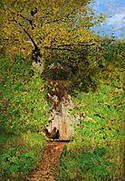 A path, c.1885, levitan