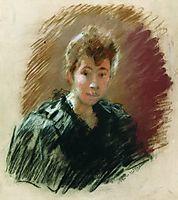Portrait of Sofia Petrovna Kuvshinnikov, 1894, levitan