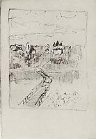 Quiet cloister, 1890, levitan