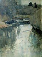 A river, 1897, levitan