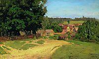 Small village, c.1885, levitan
