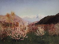 Springtime in Italy, 1890, levitan