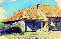Stable, c.1885, levitan