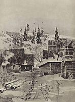 Village, 1884, levitan