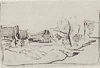 Village Savvinskaya near Zvenigorod, 1884, levitan