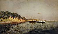 Volga. A Calm Day, 1895, levitan