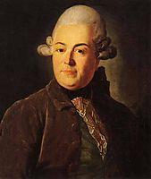 Ivan Glebov (Oscherin), 1770, levitzky