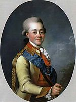 Paul I of Russia, c.1785, levitzky