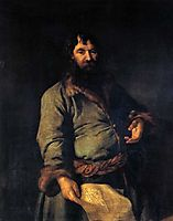 Philanthropic giver (Portrait of N. A. Sezemov), 1770, levitzky
