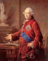 Portrait of Alexander Golytsyn, 1772, levitzky