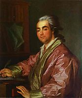 Portrait of an Unknown Man, 1781, levitzky
