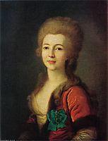 Portrait of Catherine Vorontsova, c.1785, levitzky