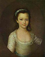 Portrait of Countess Ekaterina Vorontsova as a Child, c.1790, levitzky
