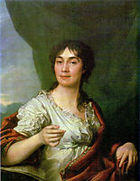 Portrait of Countess A. S. Protasova, 1800, levitzky