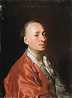 Portrait of Denis Diderot, 1773, levitzky