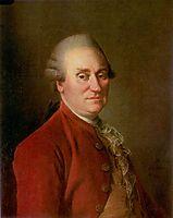 Portrait of director of Capella Mark Fedorovich Poltoratsky, 1780, levitzky