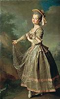 Portrait of Ekaterina Nelidova, 1773, levitzky