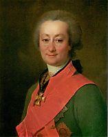Portrait of Fedor Orlov, 1785, levitzky