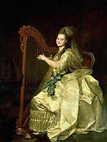 Portrait of G. I. Alymova, 1773, levitzky